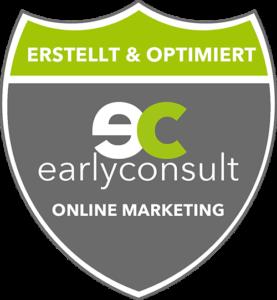 Diese Website wurde von der earlyconsult GmbH erstellt und die lokale Suche optimiert